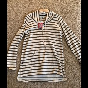 Long sleeve striped pullover size 8-10